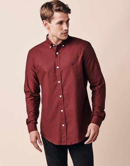 Crew Clothing Crew Slim Oxford Shirt Port Royale
