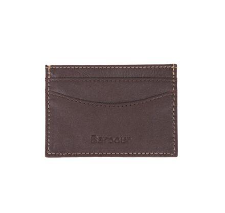 Barbour Elvington Leather Cardholder Brown/Tan