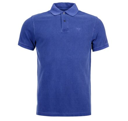 Barbour Washed Sports Polo Shirt Navy