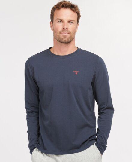 Barbour Sheldon Long Sleeve T-Shirt Navy