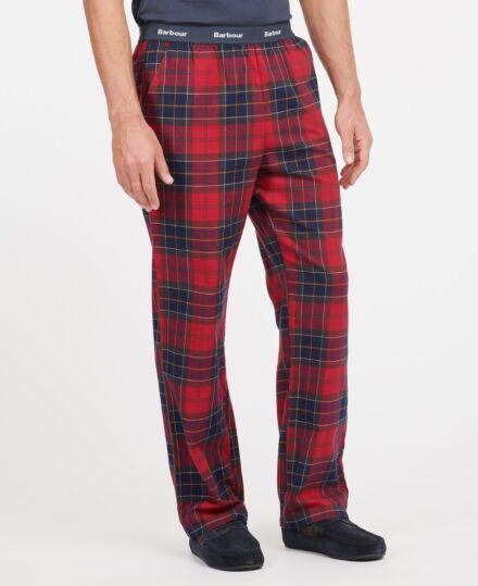 Barbour Men's Glenn Tartan Trousers Red