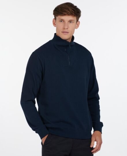 Barbour Harbour Half Zip Sweatshirt Navy