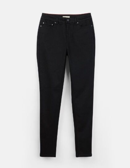 Joules Monroe High Rise Skinny Jeans Black