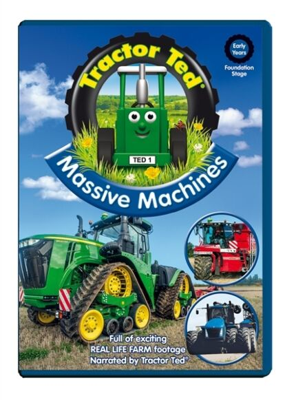 Tractor Ted DVD - Massive Machines