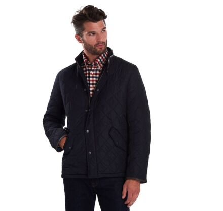 Barbour Powell Quilt Jacket Navy
