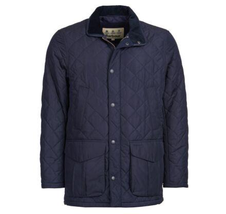 Barbour Devon Quilted Jacket Navy