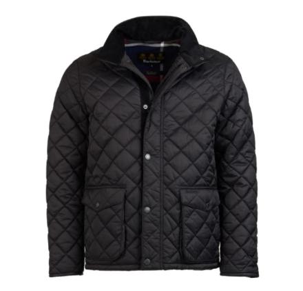 Barbour Evanton Quilted Jacket Black