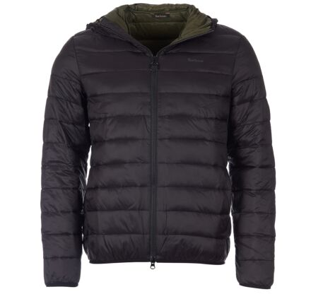 Barbour Benton Quilted Jacket Black