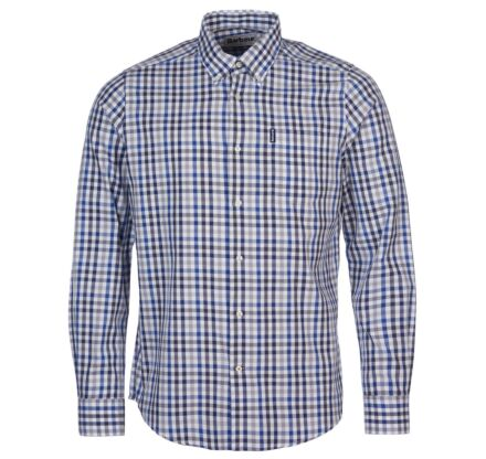 Barbour Country Check 6 Tailored Shirt Grey