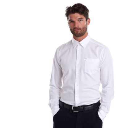 Barbour Oxford 1 Tailored Shirt White