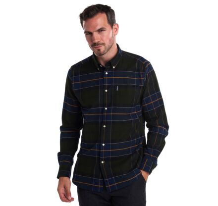 Barbour Lustleigh Tailored Fit Shirt Forest