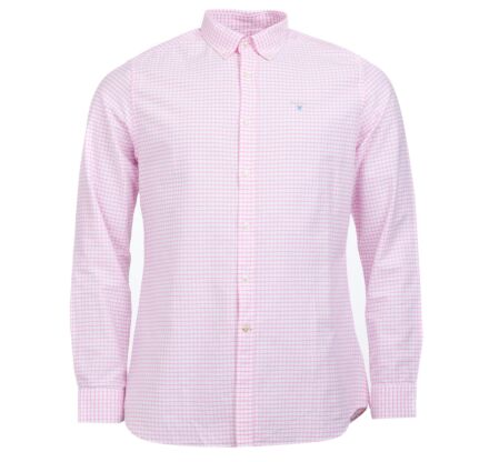 Barbour Tattersall 12 Tailored Fit Shirt Pink