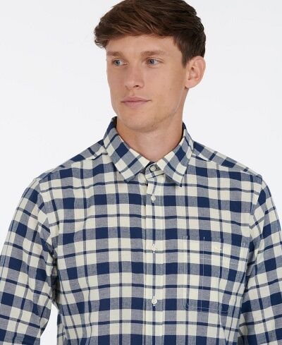 Barbour Sealton Shirt Washed Navy