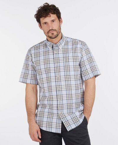 Barbour Highland Check 26 Regular Fit Shirt Stone