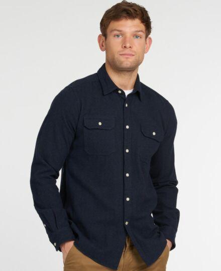 Barbour Bicklow Shirt Dark Navy