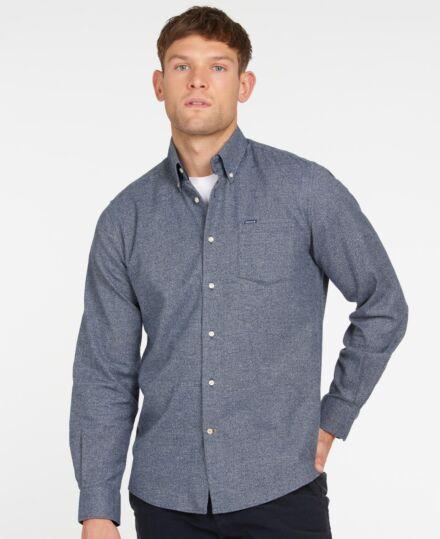 Barbour Priestcliffe Tailored Shirt Navy