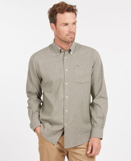 Barbour Priestcliffe Tailored Shirt Olive