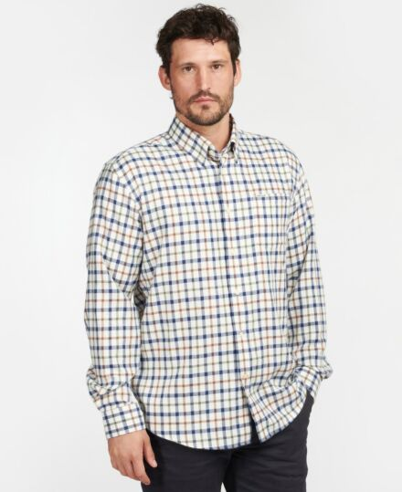 Barbour Coll Thermo Shirt Ecru