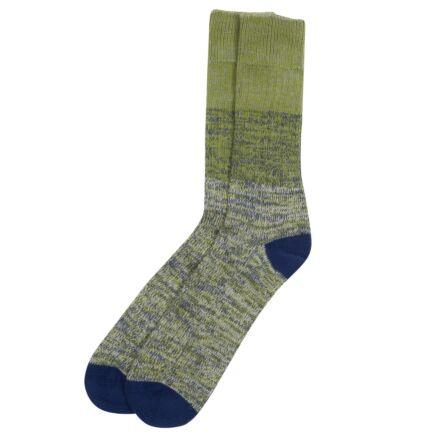 Barbour Glencoe Socks Olive Twist
