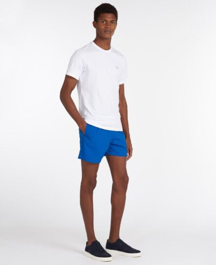 Barbour Essential Logo 5 Swim Shorts Bright Blue