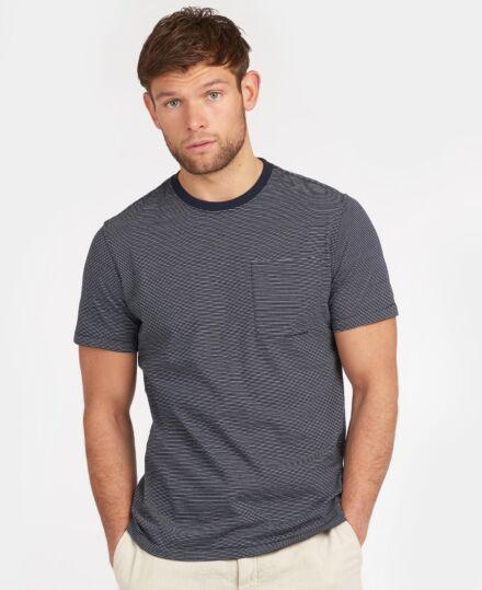 Barbour Sands Stripe T-Shirt Navy