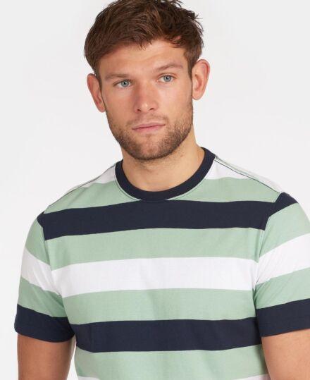 Barbour Edwards Stripe T-Shirt Navy