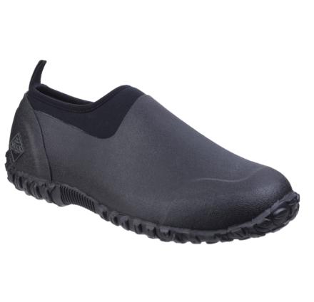 Muck Boots Womens Muckster II Low All Purpose Lightweight Shoe Black Dfs