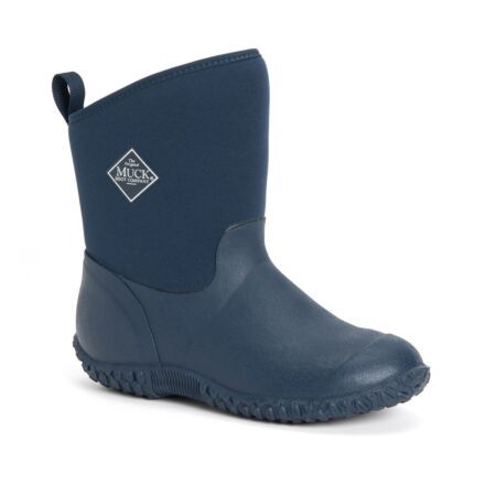 Muck Boots Womens Muckster II Mid Shearling Boots Navy