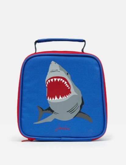 Joules Munch Lunch Bag Blue Shark