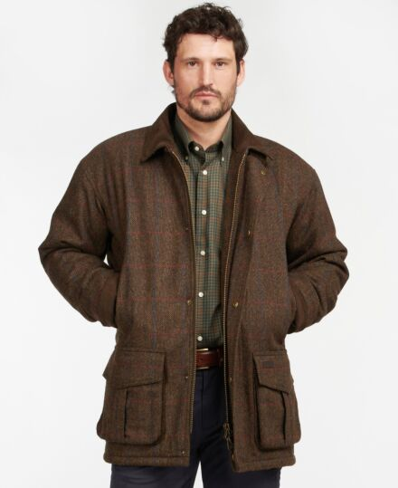 Barbour Penrith Wool Brown Check
