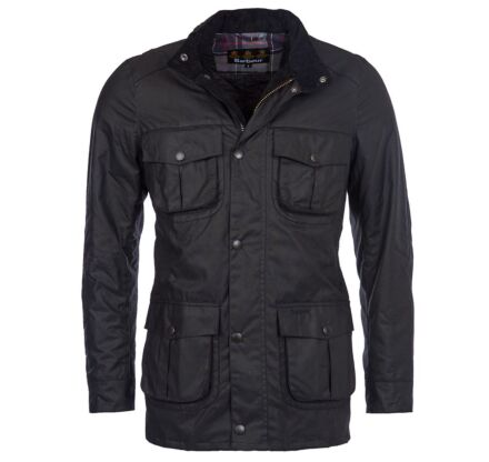 Barbour Corbridge Waxed Jacket Black