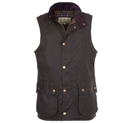 Barbour Westmorland Waxed Gilet Olive