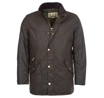 Barbour Prestbury Waxed Jacket Olive