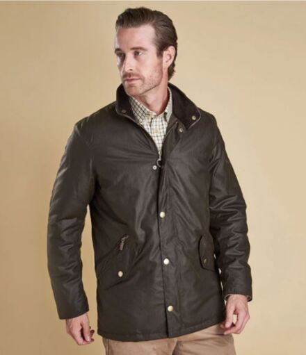 Barbour Prestbury Waxed Jacket Rustic