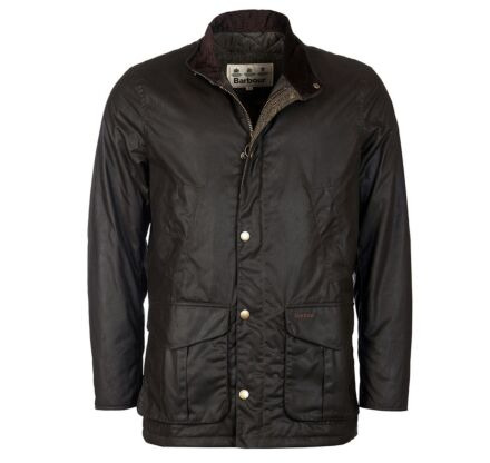 Barbour Hereford Wax Jacket Olive