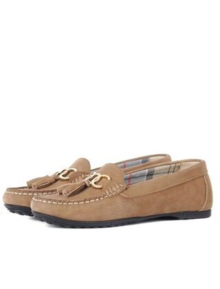 Barbour Nadia Loafers Taupe