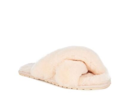 Emu Mayberry Doubleface Sheepskin Slippers Natural