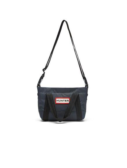 Hunter Nylon Topclip Tote Mini Bag Navy