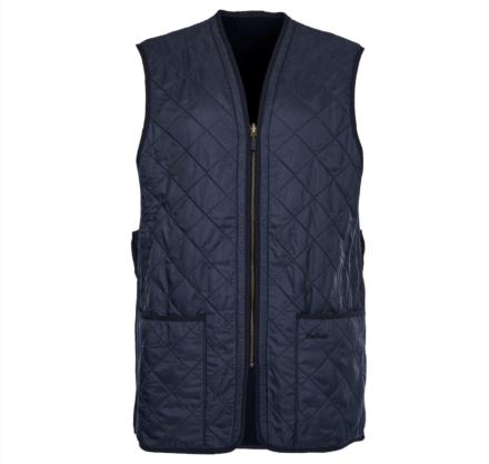 Barbour Polarquilt Waistcoat/Zip-In Liner Navy