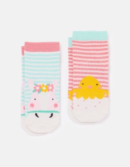 Joules Neat Feet Character Socks Horse Chick