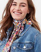 Joules Jenny Neckerchief Multi Floral