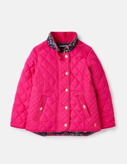 Joules JNR Newdale Jacket Ruby Pink