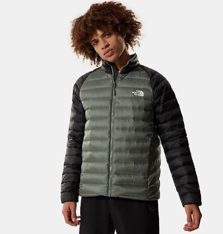 The North Face Men's Trevail Down Jacket Agave Green/Black