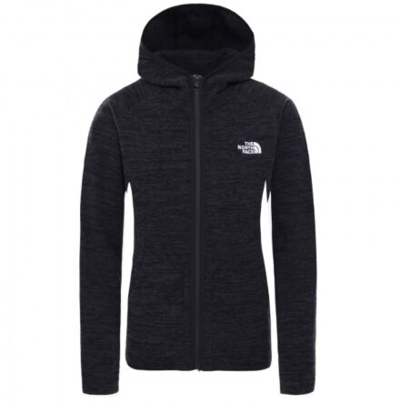The North Face Women's Nikster Full Zip Hoodie Black Heather