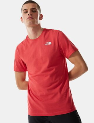 The North Face Redbox T-Shirt Rococco Red