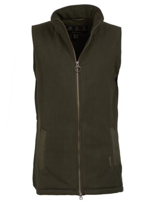 Barbour Dunkeld Fleece Vest Olive