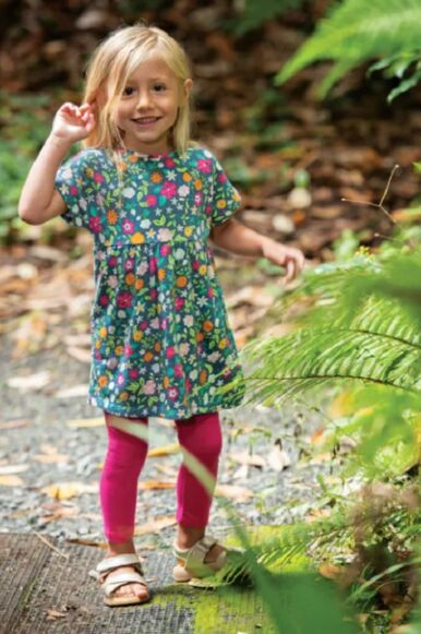 Frugi Olivia Outfit Flower Valley