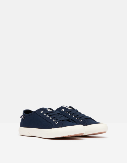 Joules Organic Coast Pump French Navy