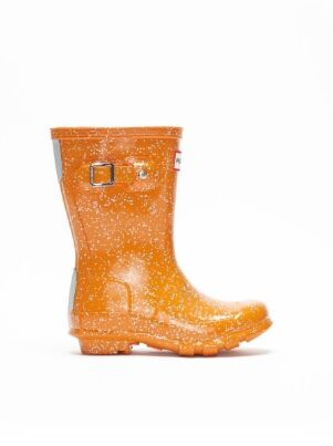 Hunter Original Kids Giant Glitter Boots Amber Creek