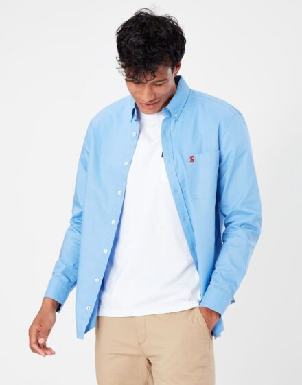 Joules Oxford Classic Fit Shirt Blue